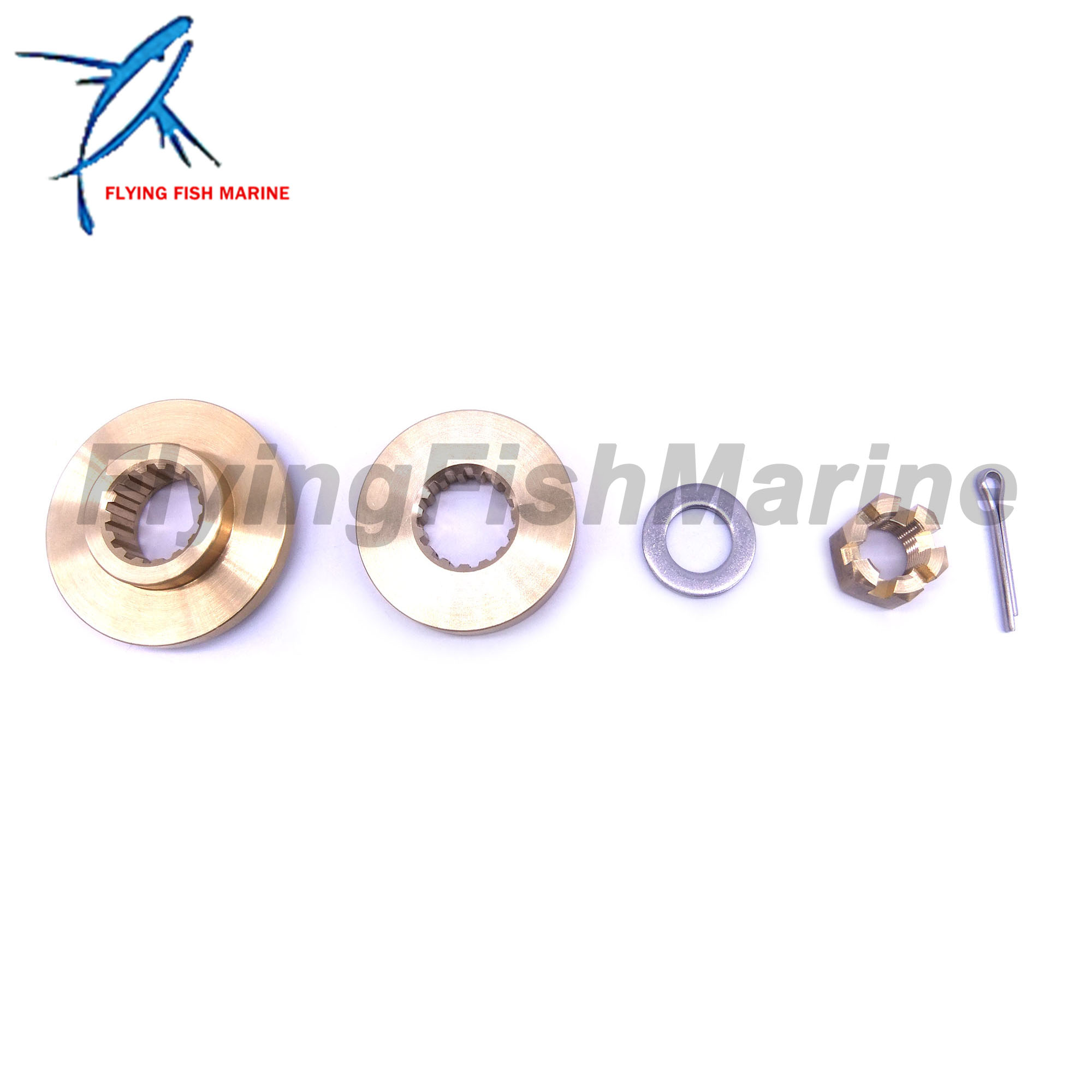 688-45997-01 63P-45987-00 688-45997-01 90171-18M04 Propeller Spacer Hardware Kits For Yamaha Outboard Engine 100