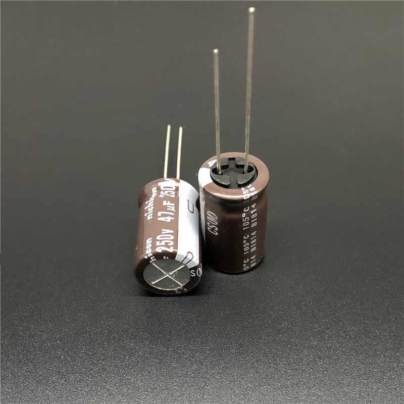 Nichicon UKW1H471MHD  470uF 50V  12,5x20 20/% 85°C RM5  2000h  #BP 4 pcs