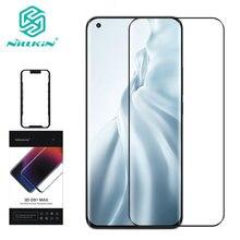 Dla Xiaomi Mi 11 szkło hartowane Nillkin DS + MAX osłona przeciwwybuchowa do szklanej folii For Xiaomi Mi 11 3D
