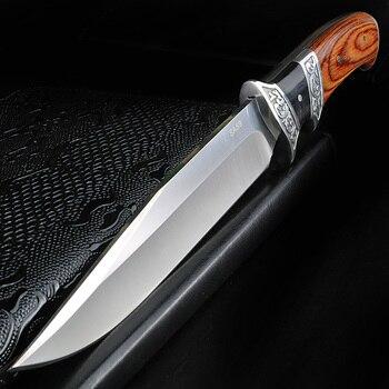 Cuchillo para exteriores Xuan Feng, herramienta EDC de alta calidad, cuchillo de rescate militar de acero SA48, cuchillo de supervivencia salvaje, cuchillo táctico de camping