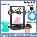 3D-принтер Ender 3 /Ender 3 Pro/ Ender 3 V2, большой I3 мини-принтер с функцией возобновления печати после сбоя питания, Комплект «сделай сам»