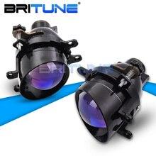 Światło przeciwmgielne PTF dla Toyota Corolla/Yaris/Avensis/Camry/RAV4/Peugeot/Lexus H11 soczewki obiektywu projektora Bixenon światła samochodowe akcesoria Tuning