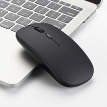 2.4G Thin Wireless Mouse Mute Rechargeable Mice Wireless USB Mouse Ergonomic 1600 dpi Wireless Mouse For Pc Laptop