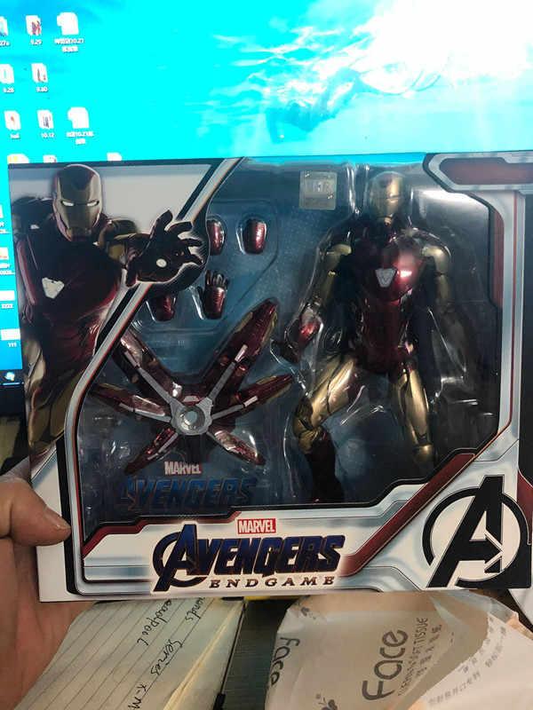 """Marvel Avenger 4 Endgame Iron Man MK85 7/"""" Action Figure Ironman Mark 85 Nano"""