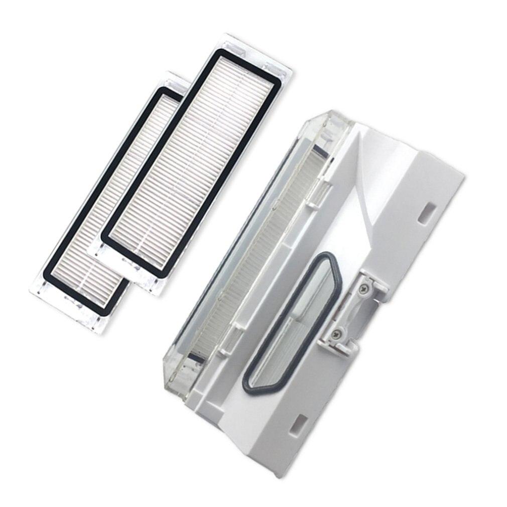 Пылезащитная коробка для Xiaomi Roborock S50 S51 коробка для мусора с Hepa фильтрами подметальная машина аксессуары инструменты для пополнения
