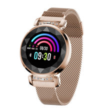 Reloj inteligente de lujo diamante BM88 para mujer, deporte IP67, Bluetooth resistente al agua para Android IOS Iphone, reloj inteligente, regalo para esposa BM88(China)