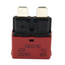 Автоматический выключатель, предохранитель с небольшим лезвием 24 В, сбрасываемый для лодочного автомобиля, 10 А