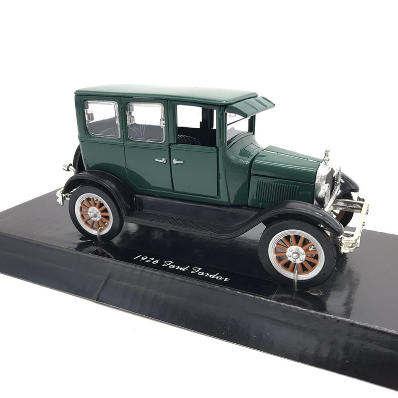 12CM 1/32 Scale Metal Alloy Classic Static 1926 Classical Auto Car Model Diecast Vehicle Toy F Children Kids Gift Decorate Show