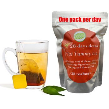 100% Pure Natural 28days Detox Tea Bags Colon Cleanse Fat Burn Weight Loss Tea Man Women Tea Belly Slimming Tea Anti Cellulite+3 2