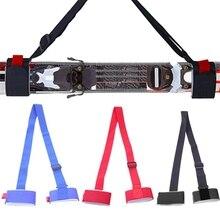 Ремешок на плечо для катания на лыжах и сноуборде, Нейлоновый Регулируемый Многофункциональный ручной переносной ремень из ЭВА