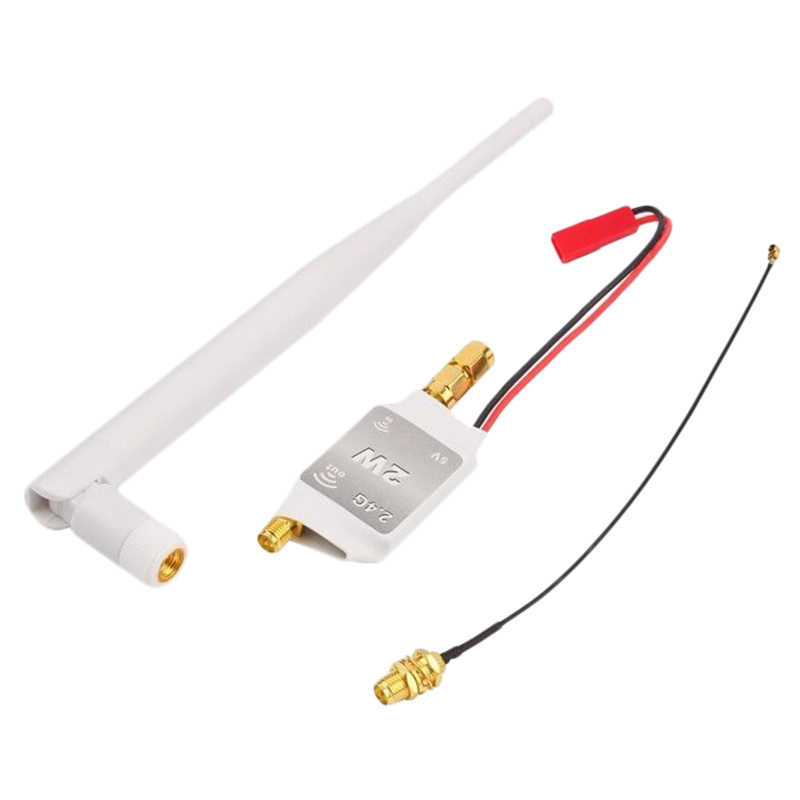 For DJI Phantom FPV Transmitter Receiver 2.4G Signal Booster Amplifier Antenna