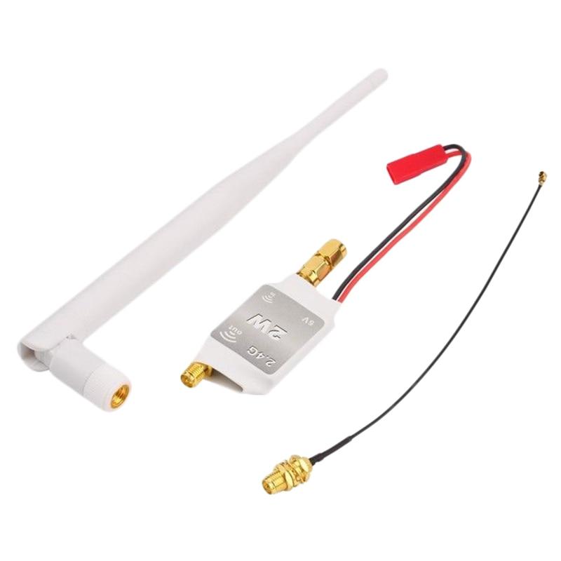 For DJI Phantom FPV Transmitter Receiver 2.4G Signal Booster Amplifier Antenna