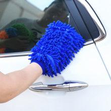 1 шт. автомобильные перчатки для уборки дома для Porsche 911 918 Cayenne Macan Panamera Cayman Carrera Boxster