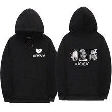 Xxxtentacion Revenge Hoodie Sweatshirt Männer und Frauen Casual Pullover Street Kleidung Hip Hop HOODIES Lustige Trend Druck Hoodie