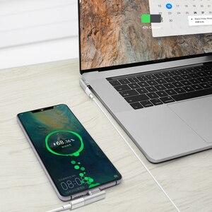 Image 5 - 高品質 20 ピン磁気 USB C アダプタータイプ C コネクタ PD 100 ワット Macbook Pro のための急速充電 huawei 社サムスン