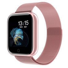 2020 femmes étanche montre intelligente P70 P68 Plus Bluetooth Smartwatch pour Apple IPhone Xiaomi moniteur de fréquence cardiaque Fitness Tracker(China)