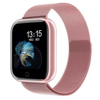 2020 reloj inteligente impermeable P70 P68 Plus con Bluetooth Smartwatch para Apple IPhone Xiaomi Monitor de ritmo cardíaco Monitor de Fitness