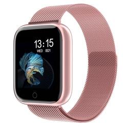 Reloj inteligente P70 P68 Plus 2019 para mujer, resistente al agua, reloj inteligente Bluetooth para Apple IPhone Xiaomi, Monitor de ritmo cardíaco, rastreador de Fitness
