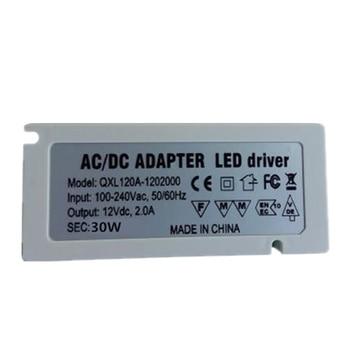 NEW 10PCS DC 12/24V 6 ports Power Supply LED Driver 30W AC 100V 220V Lighting Transformer Adapter with EU/US Plug for LED Lights