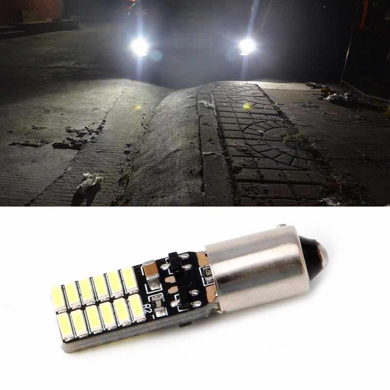 Cahaya Putih BA9S-4014-24 LED Lampu untuk VW CC Backup Lampu DC 12V Baru untuk LED Bar