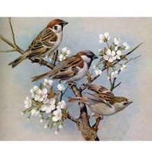 Diamond Embroidery Full Square Drill 5D DIY Painting Animal Bird Cross Stitch Handwork Rhinestone Home Art
