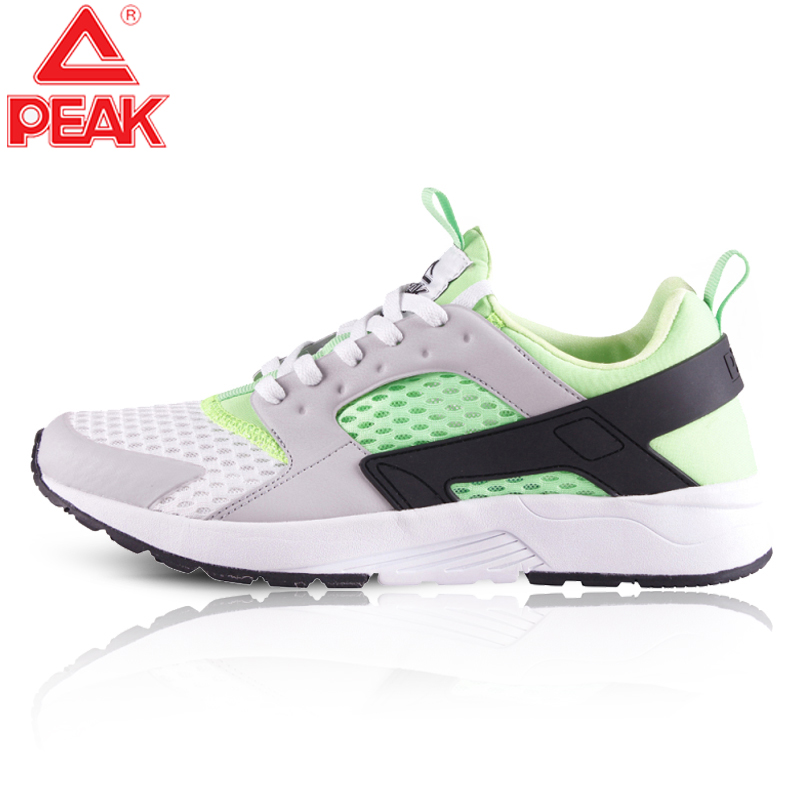 PEAK Men's Running Shoes Winter Outdoor Sneakers Lightweight Breathable Mesh Casual Shoes Gym Fitness Jogging Sport Shoes