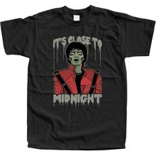 Mens Cotton T Shirts Zombie Michael Unofficial Thriller Mj Shirt Jackson Pop
