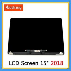 """Image 1 - Nowy ekran LCD A1990 dla Macbook Pro Retina 15 """"A1990 montaż LCD pełny wyświetlacz kompletny montaż 2018 MR932 MR942"""