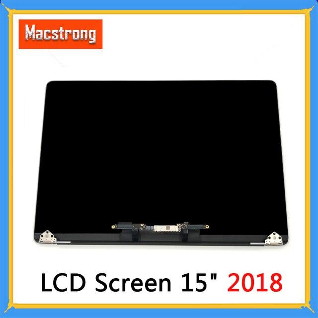 """Nowy ekran LCD A1990 dla Macbook Pro Retina 15 """"A1990 montaż LCD pełny wyświetlacz kompletny montaż 2018 MR932 MR942"""