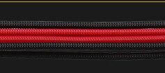 Кабель-удлинитель для мужчин и женщин используется для 24Pin материнской платы/8Pin cpu/8Pin GPU/18AWG кабель передачи/длина 30 см - Цвет лезвия: black and red