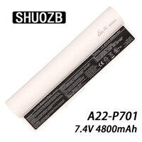 4400mAh 7.4V A22 P701 A22 P700 A22 700 P22 900 Laptop Battery For Asus Eee PC 2G 4G 8G 2G 700 701 900 Surf X Notebook Batteries