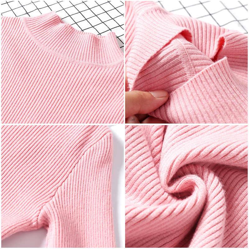 Gareмая 2019 Осень Зима Женский свитер Пуловер длинный рукав Повседневный базовый джемпер красный вязаный водолазка женская Кофты для женщин кофта женская