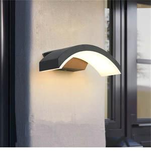 Light-Fixture Wall-Light Front-Door Garden Porch Waterproof 24w Modern Corridor ML35