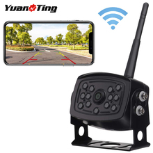 Backup-Camera Trailer Wifi Android-Device Night-Vision Yuanting Rear-View Wireless