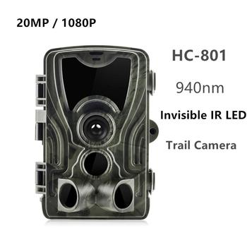 HC801 Hunting Trail Camera 20MP 1080P Night Version Invisible Infrared LED Wild Cameras 0.3s Trigger Surveillance Photo Traps 2