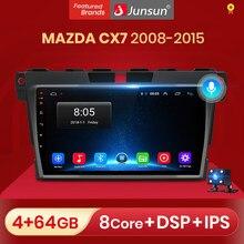 Junsun V1 2G + 32G Android 10,0 автомобильное радио, мультимедийный плеер, навигация для мазда Cx-7 cx7 2008 2009 2010 2011 2012 2013 2014 2015
