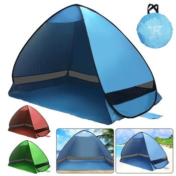 200*120*130cm Outdoor Automatic Instant Pop-up Portable Beach Tent Anti UV Shelter Camping Fishing Hiking Picnic automatic instant pop up beach tent lightweight outdoor uv protection camping fishing tent cabana sun shelter