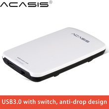 2.5 Inch SATA 3 USB 3.0  External Hard Drive Disk Box High Speed Enclosure Case With Cable Interface 5 Gbps HDD Docking Station