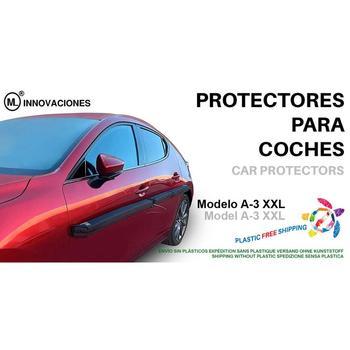 Protector de coches Lotus para puertas del auto. Extraíble. Fijación con imanes magnéticos. Modelo A3 XXL