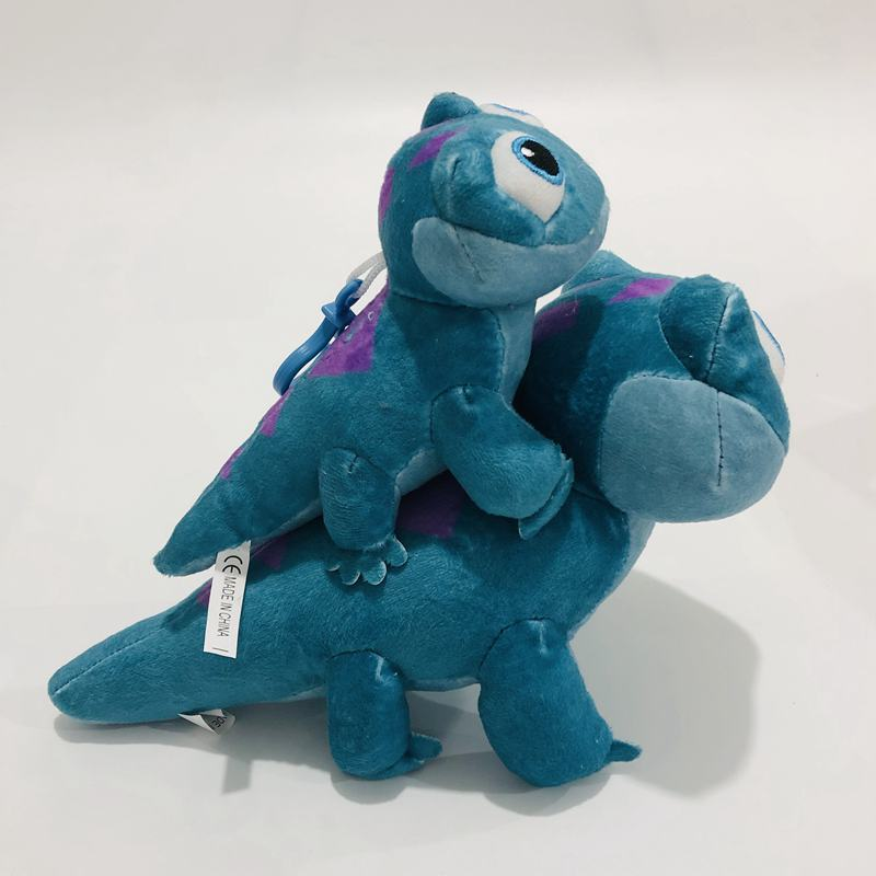 Disney Frozen 2 Bruni Little Fire Elf Newest Character Anna Elsa Fire Spirit Blue Lizard Cute Plushy Salamander Dolls Gifts Toys