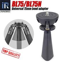 BL75/BL75N 75Mm Universele Kom Adapter Aluminium Half Ball Voor Statief Fluid Head Dslr Camera Hoge Kwaliteit cnc Technologie