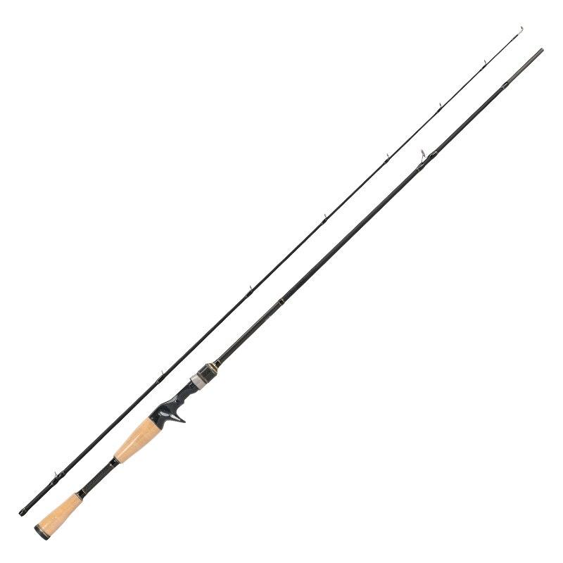 Tsurinoya proflex ii 1.89m 1.95m 2.13m fundição vara de pesca 2 seg. Fibra de carbono isca vara vara de pesca de água salgada equipamento de pesca - 5