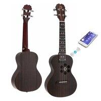 Ukulele /S1/ Q1/U1 23 Inch Concert Smart Ukulele Cat Ear Style Spruce Wood Acoustic 4 Strings Guitar with APP Teaching