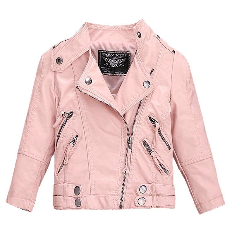 От 2 до 14 лет, Лидер продаж, новые Куртки из искусственной кожи для маленьких девочек и мальчиков, свободные детские пальто хорошего качества...