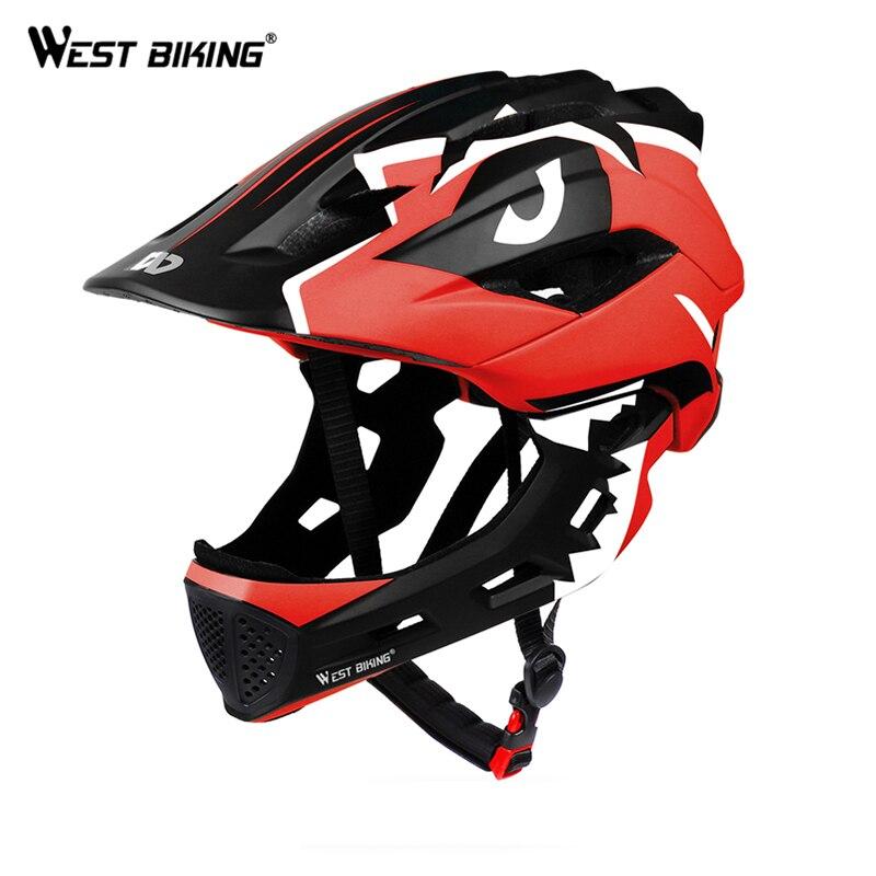 Casque de vélo vélo plein visage couvert ultra-léger enfant enfants casque sports de plein air Balance voiture vélo casques de sécurité