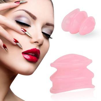 Dispositivo potenciador de silicona para el cuidado de los labios, Sexy, de perfil completo, para mujer