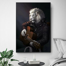 Картина с животным принтом на холсте настенная холст искусство