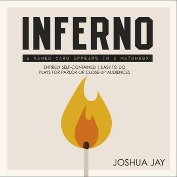 Inferno-autorstwa Joshua jaya-magiczne sztuczki tanie i dobre opinie Z tworzywa sztucznego Unisex Jeden rozmiar Dorośli