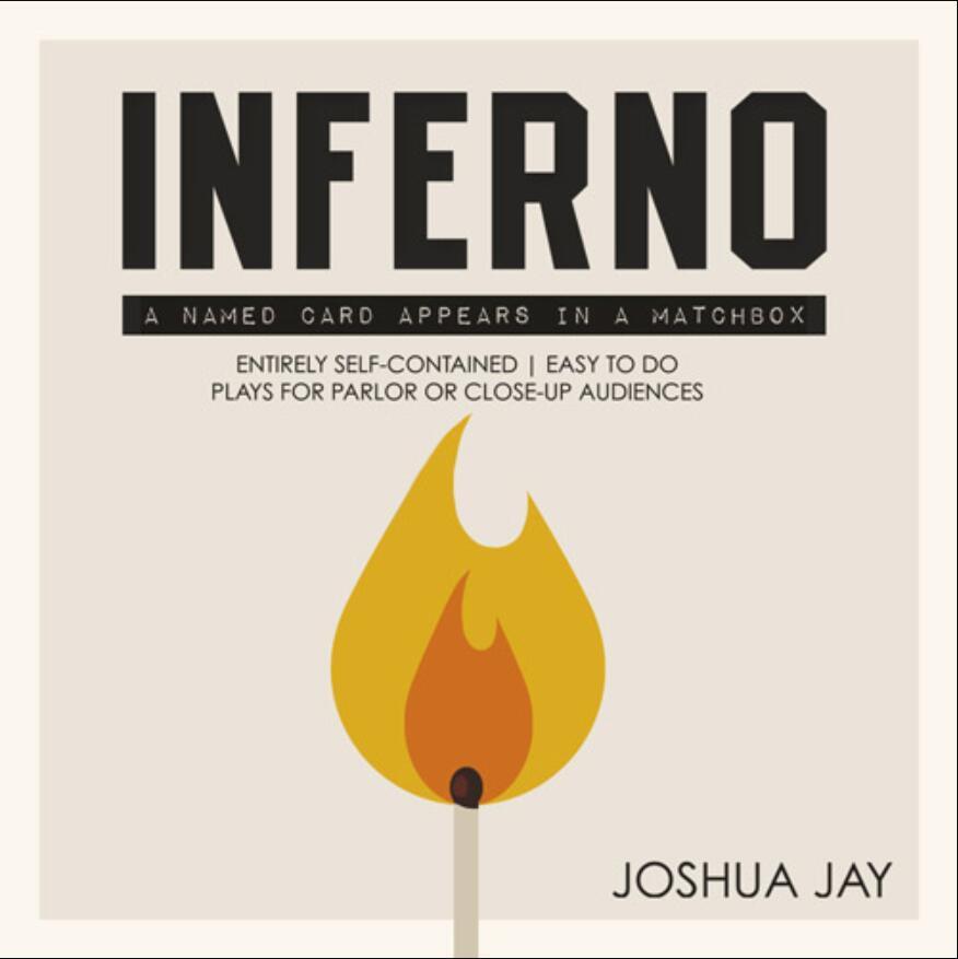 Inferno - By Joshua Jay - Magic Tricks