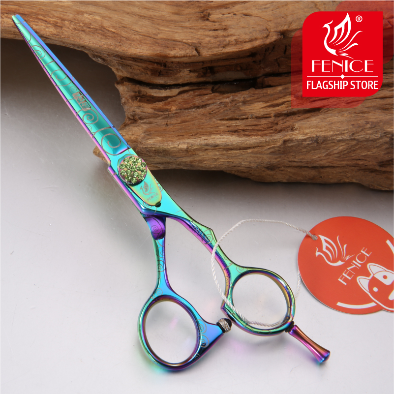 Fenice Personal 6 inch Pet Grooming Scissors Straight Teddy Dog Cat Cutting Thinning Shears Kit Tesoura Para Animal Hair